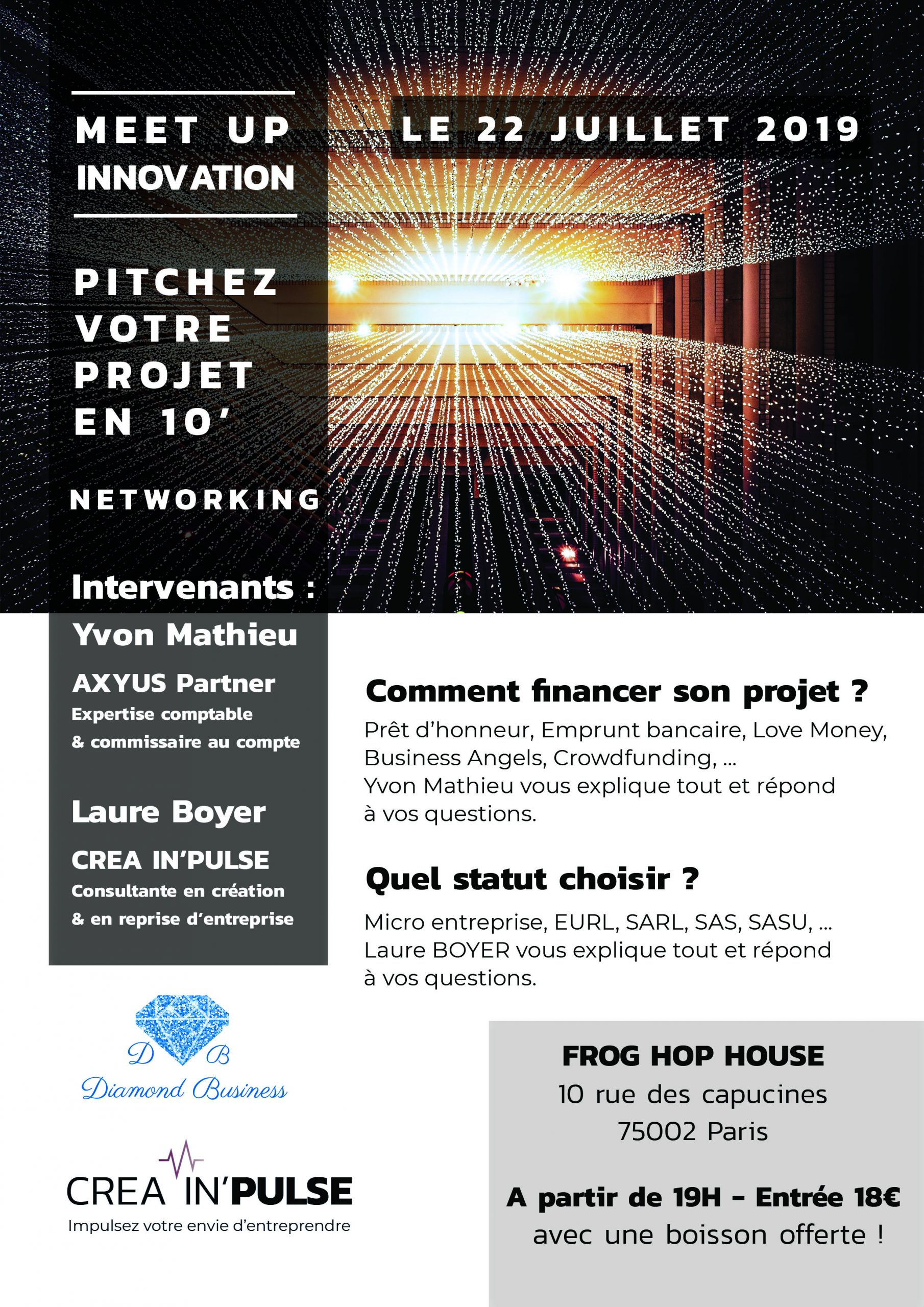 Flyer Meet Up du 22 juillet