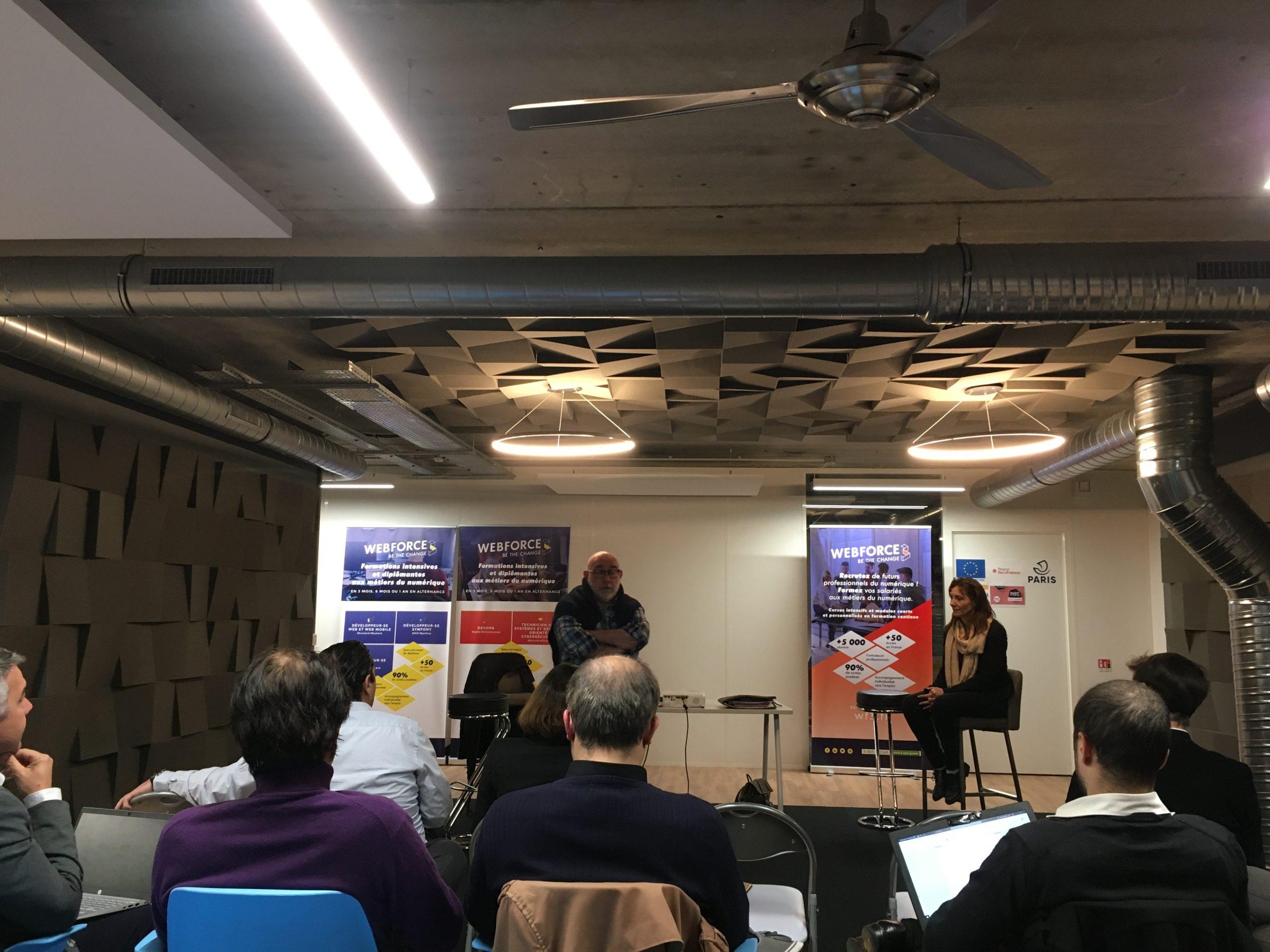Meetup webforce 3 - Créa In' Pulse