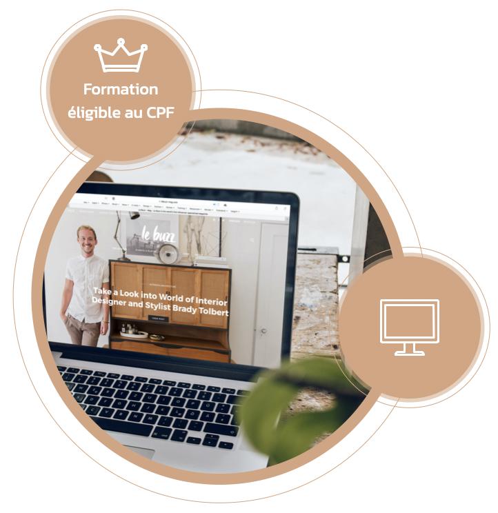 Créer mon site web avec WordPress - Formation CPF