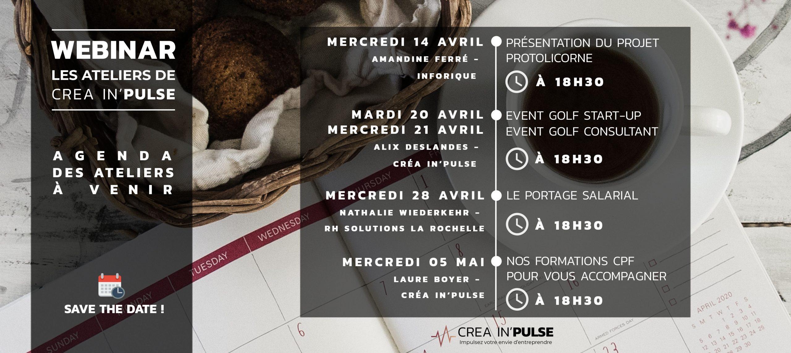flyer agenda avril creainpulse
